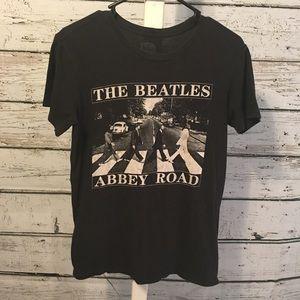 Beatles Abbey Road Black Tee Shirt Size XS